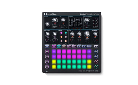 NOVSYNTH08 Novation Circuit Mono Station paraphonic analogue synthesiser