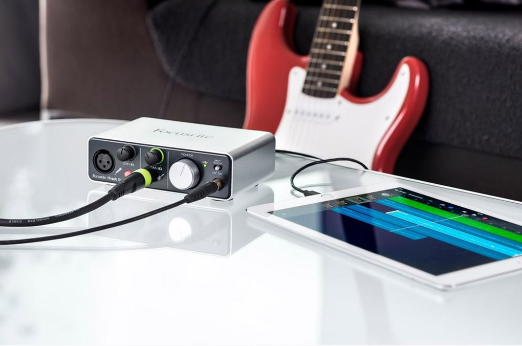 Buy Itrack Solo The Official Focusrite Store