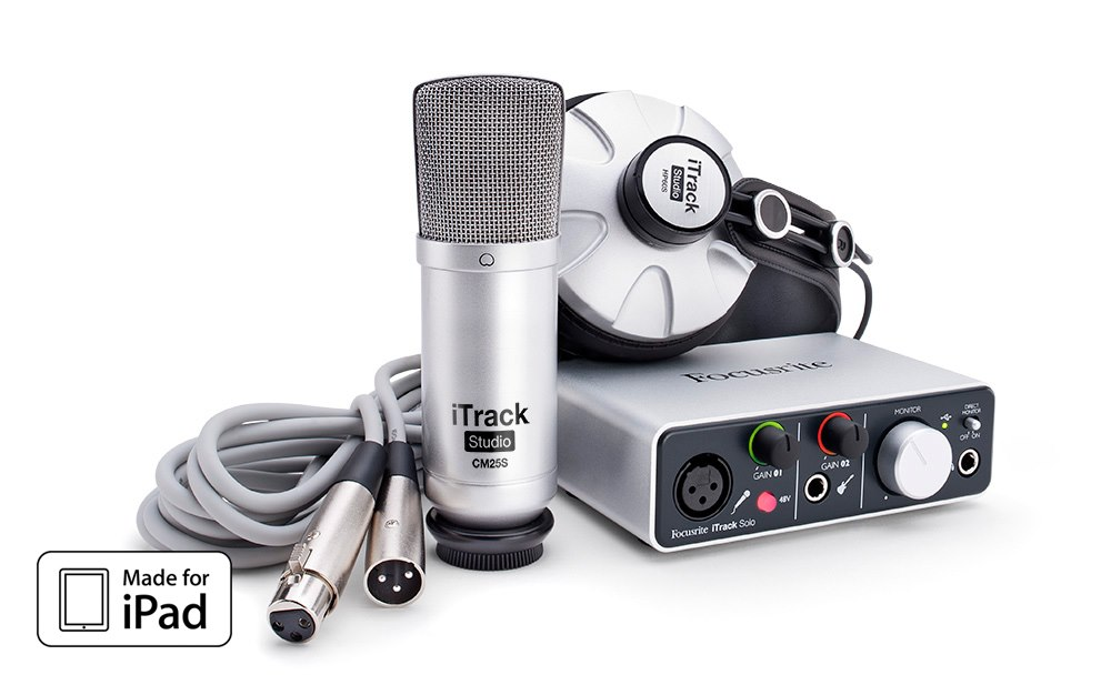 iTrack Studio high-quality 2-in, 2-out